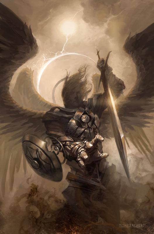 Fiefdom of Angels: Issue 0 by PeteMohrbacher on DeviantArt