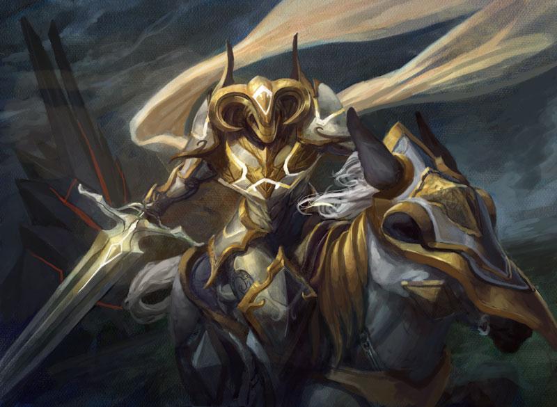 Knight of Glory by PeteMohrbacher