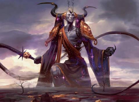 Erebos, God of Death