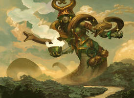 Pharika, God of Affliction by PeteMohrbacher