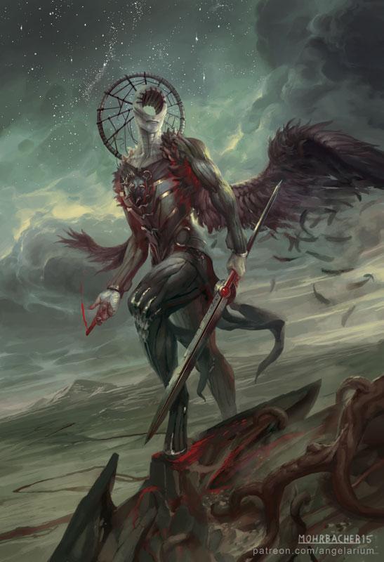 Simikiel, Angel of Vengeance