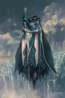 Matariel, Angel of Rain by PeteMohrbacher