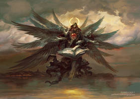 Azrael, Angel of Death by PeteMohrbacher
