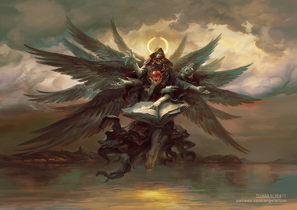 tamiel angel of the unseen by petemohrbacher on deviantart