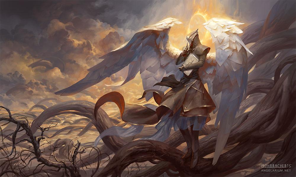 Raziel, Angel of Mysteries by PeteMohrbacher