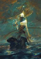 Kokabiel, Angel of the Stars by PeteMohrbacher