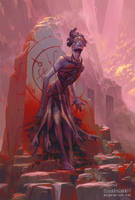 Armaros, Angel of Undoing by PeteMohrbacher