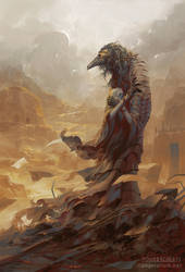 Asbeel, Angel of Ruin by PeteMohrbacher