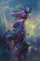 Tamiel, Angel of the Unseen by PeteMohrbacher