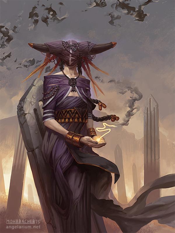 Penemue, Angel of the Written Word by PeteMohrbacher