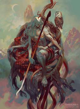 Sariel, Angel of the Waning Moon