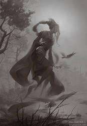Chazaqiel, Angel of Fog by PeteMohrbacher