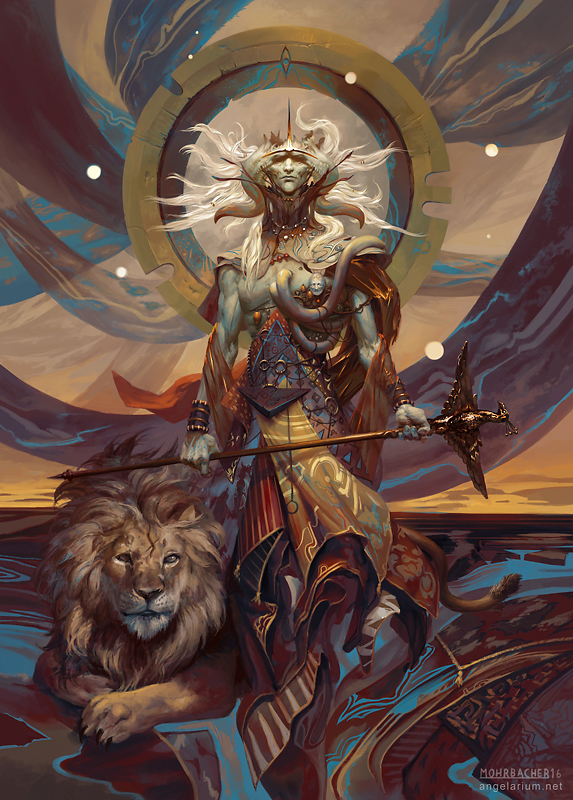 Samyaza, Angel of Pride by PeteMohrbacher