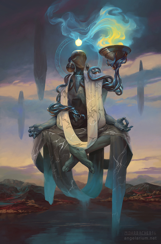 Phanuel, Angel of Truth by PeteMohrbacher