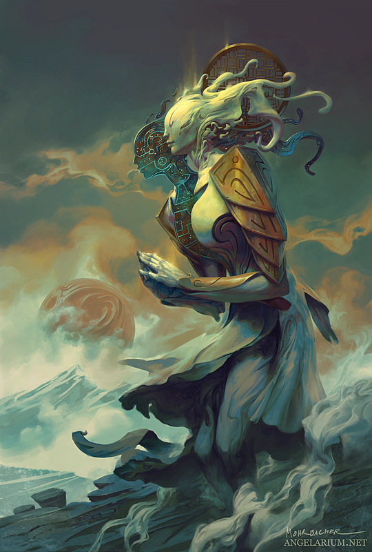 Ambriel, Angel of Gemini by PeteMohrbacher