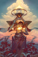 Zuriel, Angel of Libra by PeteMohrbacher