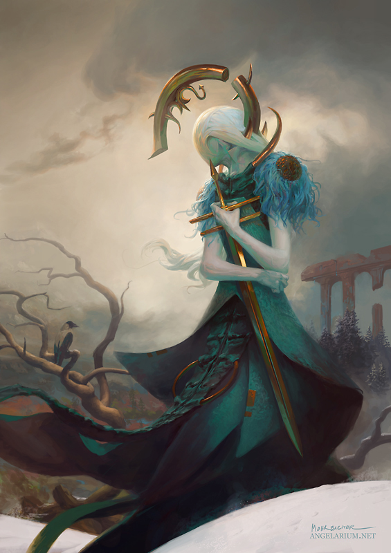 Babriel, Angel of Scorpio by PeteMohrbacher