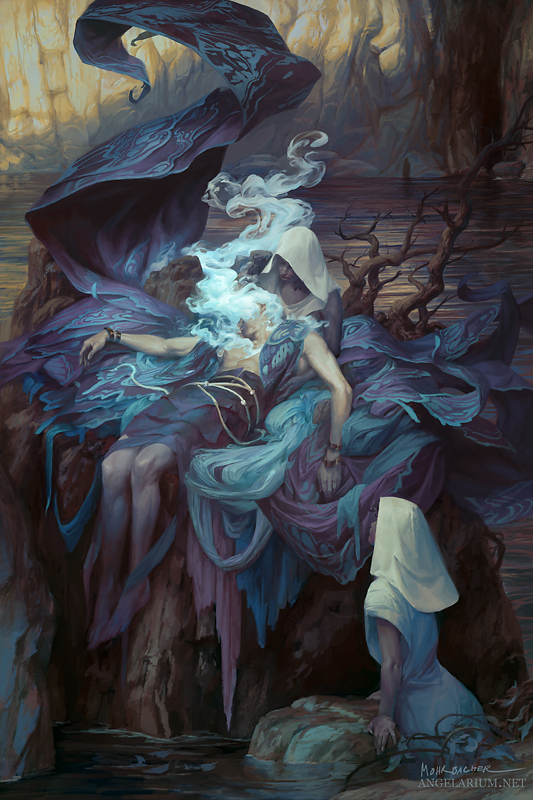 The Lament of Sathariel by PeteMohrbacher