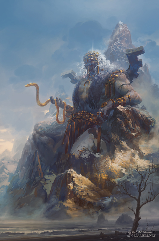 Turiel, The Hero Immemorial by PeteMohrbacher