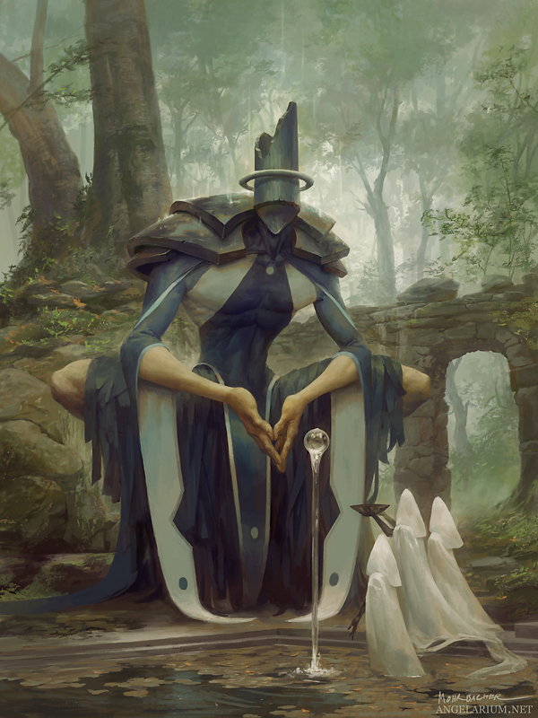 Matariel, Font of Life by PeteMohrbacher