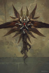 Azrael, Angel of Death - Timed Edition Print
