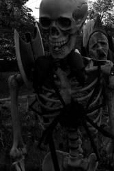 Skeletal Warrior by Ken-Griffith