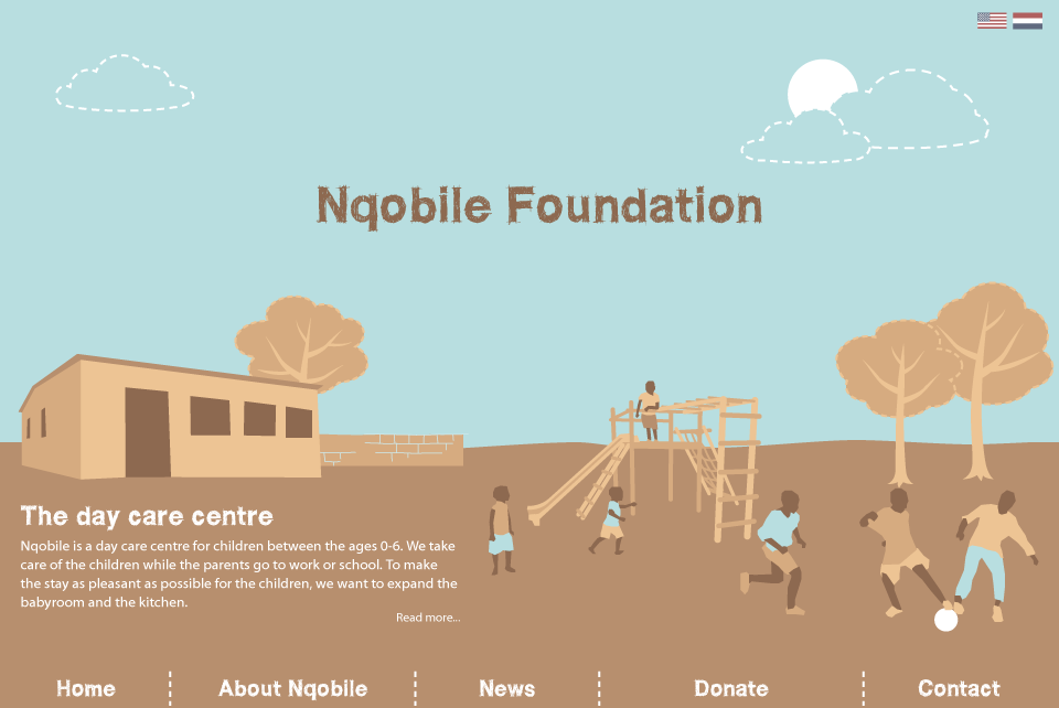 Nqobile Foundation's new website by Armonah