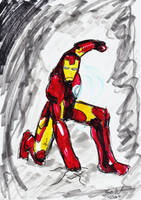 I AM IRON MAN by Sanwall