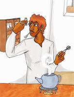 Making, No, Creating Tea by Sanwall