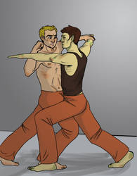 ST: Sparring by Sanwall