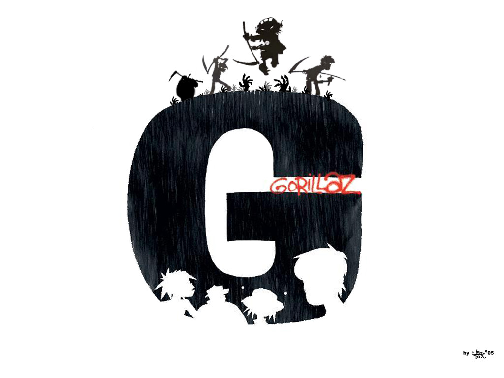 gorillaz logo wallpaper wwwimgkidcom the image kid