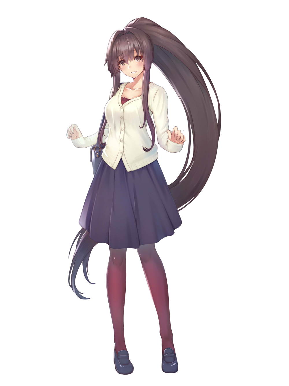 Kantai collection yamato render by tsadeek on deviantart - Yamato render ...