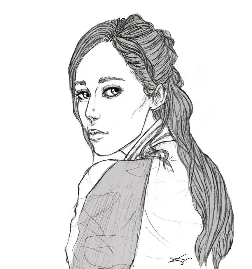 FTWD - Alicia Clark by SieniVirhe