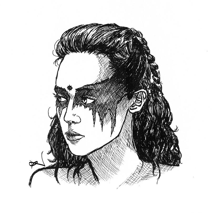 Lexa kom Trikru by SieniVirhe