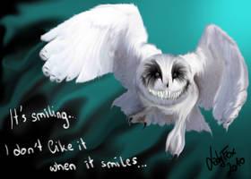 Smiling Owl by Zusuriki