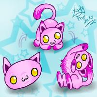 Squiby Pink Kitten by Zusuriki