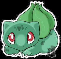 Nr.1 - Bulbasaur by Zusuriki