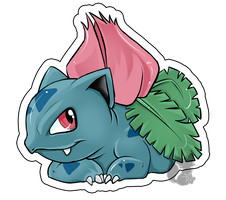 Nr.2 Ivysaur by Zusuriki