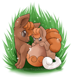 Vulpix Draw me a Pokemon