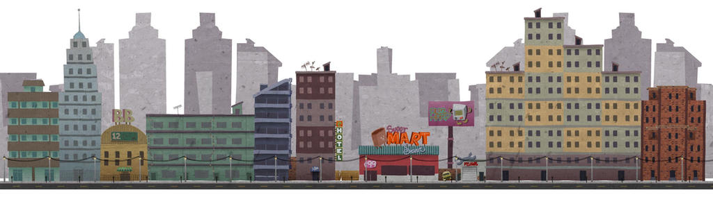City Background by reggalado