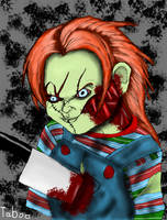 Zombie Chucky by Taboochildsplay