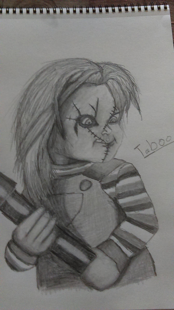 Easy Chucky Drawings