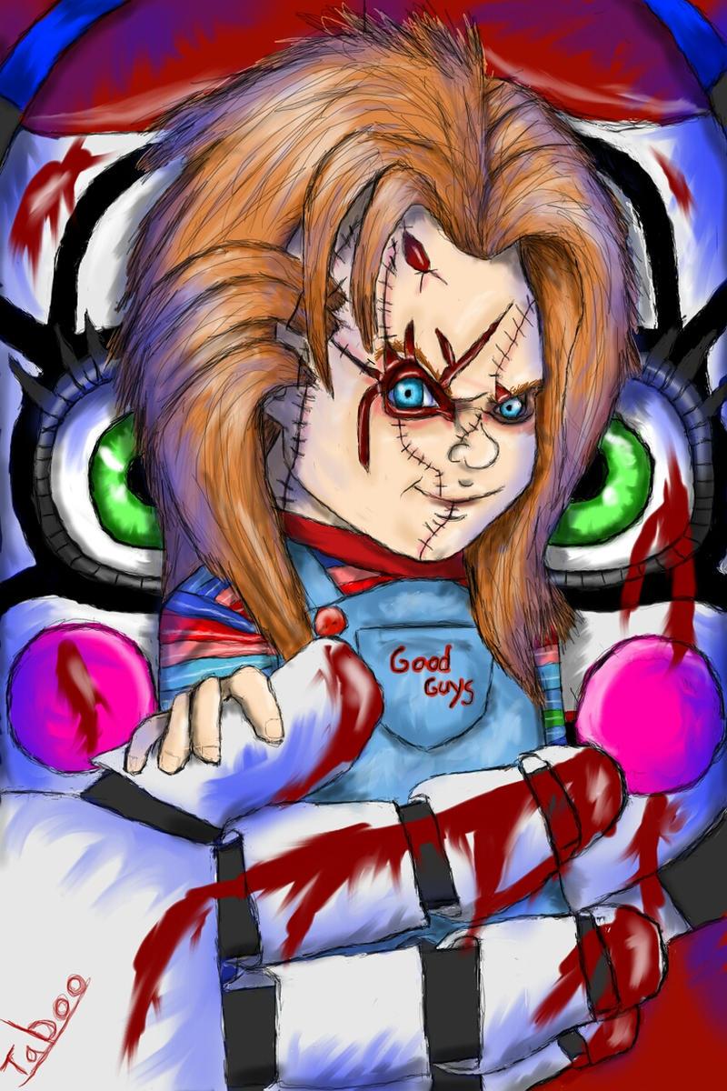 Chucky And Circus Baby By Taboochildsplay On Deviantart