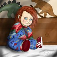 Shy Chucky by Taboochildsplay