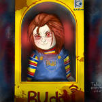 buddi in his box (chucky)