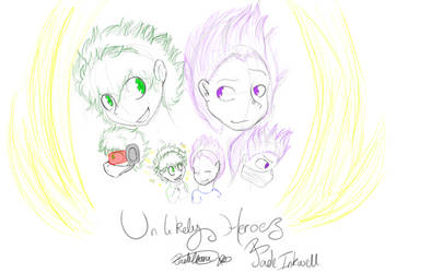 Unlikely heroes Cover by ColourBlossom