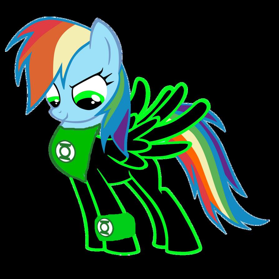 Rainbow Dash The Green Lantern By MotownWarrior01 On