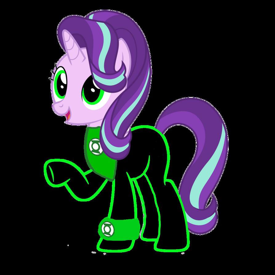 Starlight Glimmer the Green Lantern by MotownWarrior01