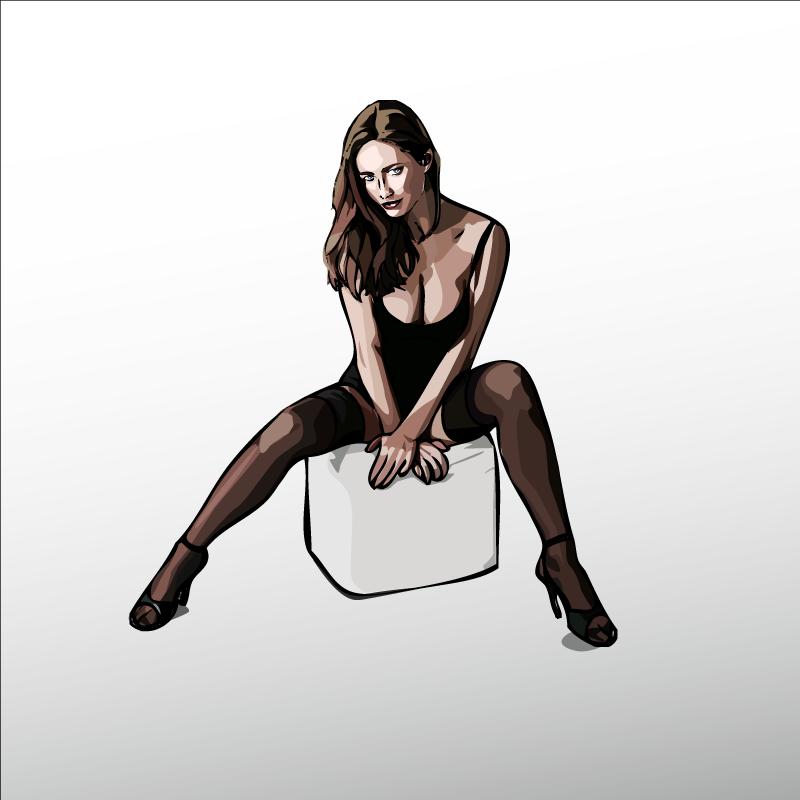 sexy woman by xikinight
