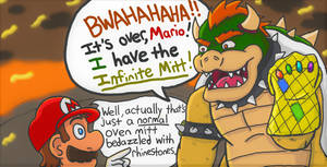 Bowser's Infinite Mitt by BananaVulture